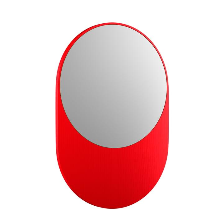 Koch Miroir, 55 x 80 cm, rouge lumineux de Objekte unserer Tage