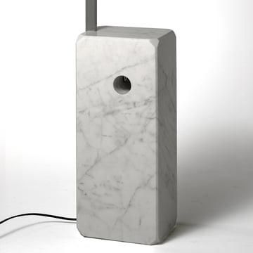 Flos - Arco  lampadaire, pied en marbre