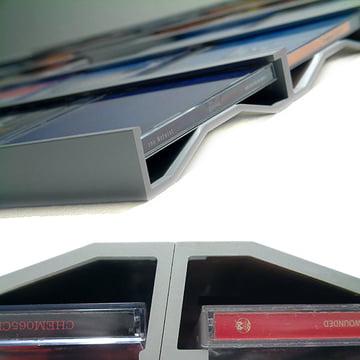 Sigmarail Rail étagère Aluminium CD (SR5)