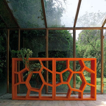 Casamania étagère Opus Incertum, orange