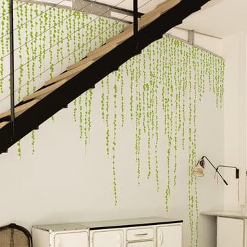 Domestic - Sticker mural Jungle Peas, vert