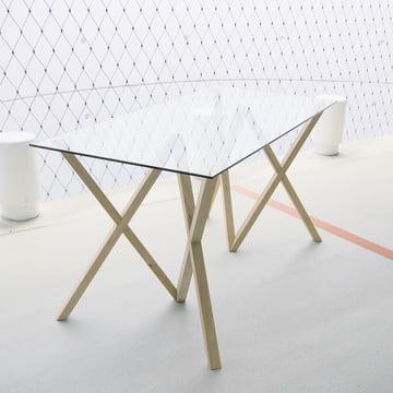 Hans Hansen - tréteaux Mika-Set, naturel