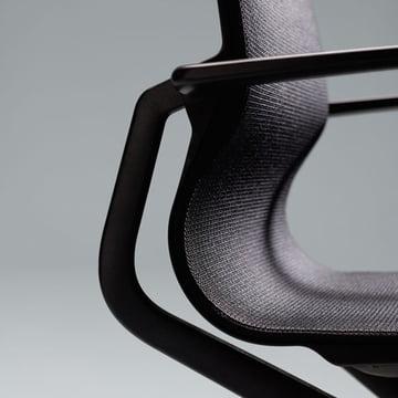 Vitra - Chaise de bureau pivotante Physix
