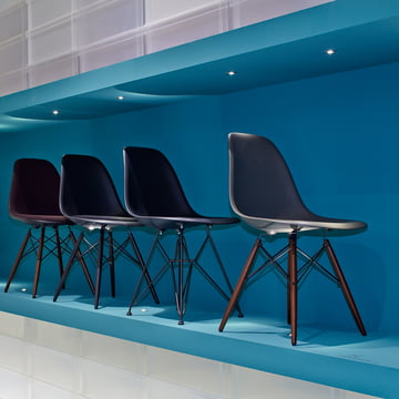 Vitra - Eames Plastic Side Chair DSW - Groupe