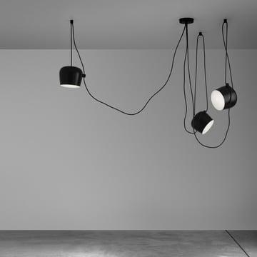 Flos - AIM luminaire suspendu Set, noir, ambiance