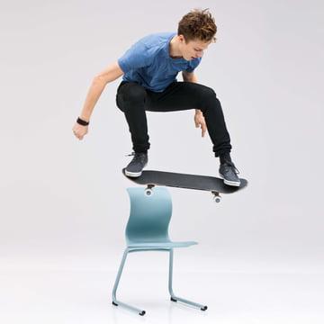 Flötotto, chaises Pro 5 avec cadre en C