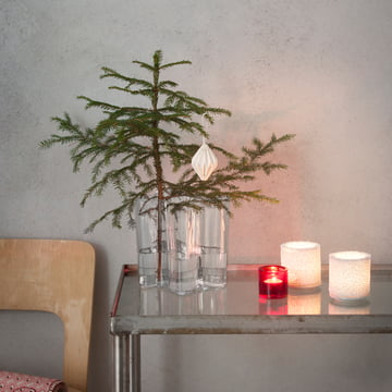 Iittala - Ambiance photo de Noël - bougies à chauffe-plat