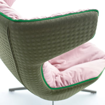 Moroso - Take A Line For A Walk - Cuir, vert/rose