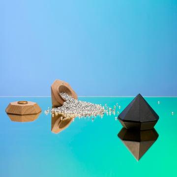 Areaware - Diamond Box, deux coloris - avec des diamants