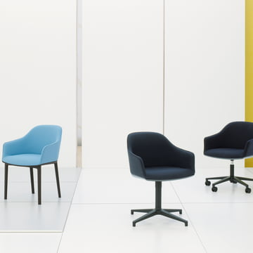 Série Softshell Chair par Vitra