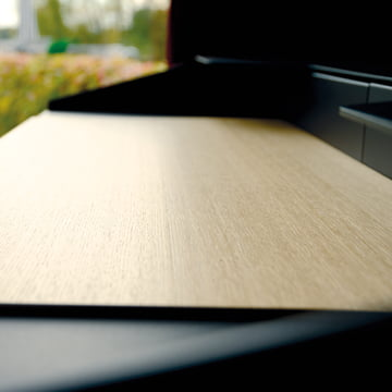 Radius Design - Secrétaire Miss Moneypenny, plateau en bois