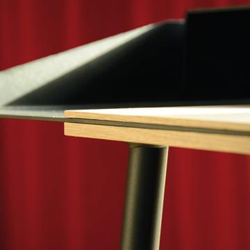 Radius Design - Secrétaire Miss Moneypenny, détails, bord