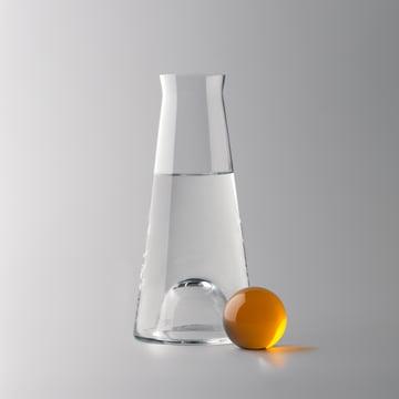 Design House Stockholm - carafe Fia, claire / ambrée - eau