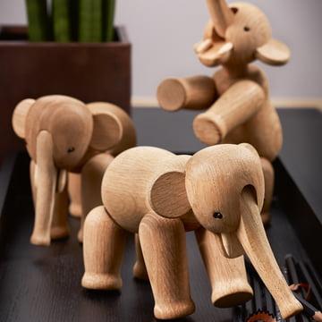 Le troupeau d'éléphants