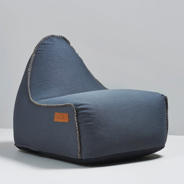 Sack it - Fauteuil Retro it Indoor, pétrole