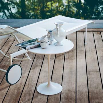 Knoll - Saarinen Tulip table d'appoint ronde