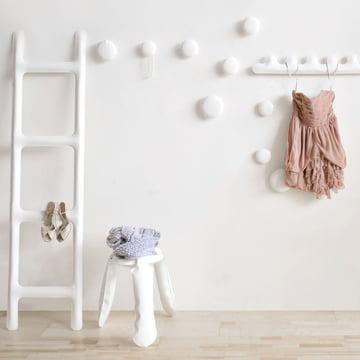 Zieta - Garde-robe Drab, blanc