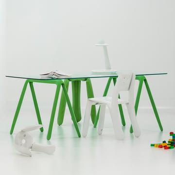 Zieta - Tréteaux Koza (2 pièces), vert