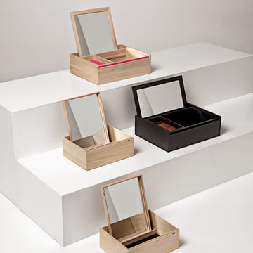 Nomess - Boîtes à bijoux Balsa Box Personal, groupe