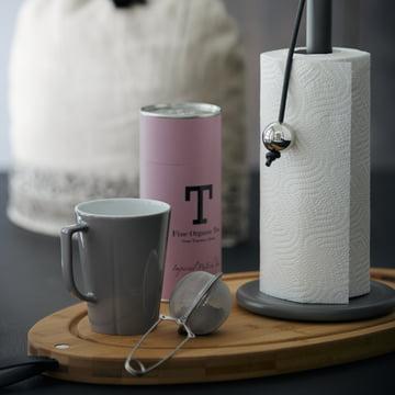 Rosendahl - Mug Grand Cru Service, gris poussière avec boule à thé