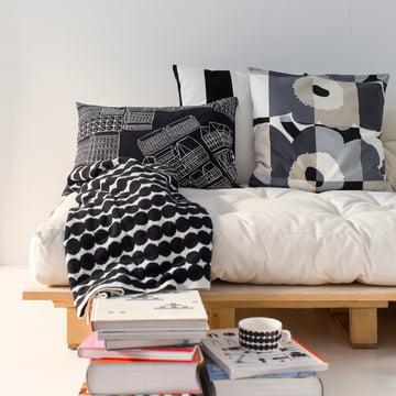 Coussins et couverture Marimekko