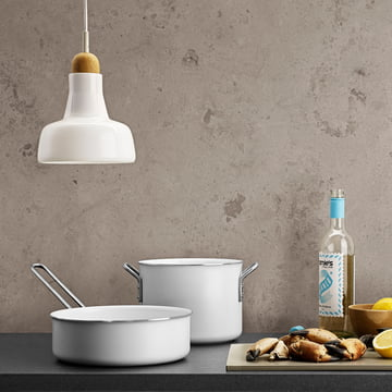 Batterie de cuisine White Line par Eva-Trio