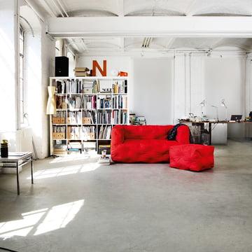 Canapé 2places et tabouret CouchI de Sitting Bull