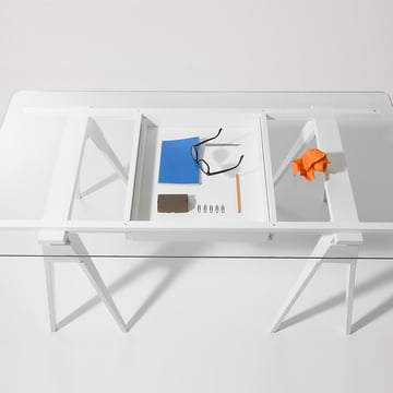 Transparence absolue du tiroir