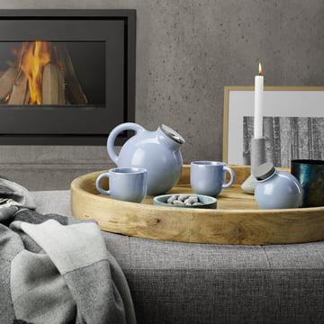 Collection Globe en bleu nordique