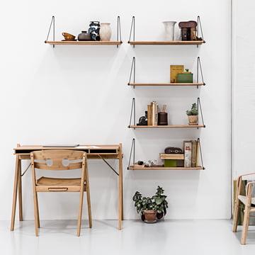 Loop Shelf, Field Desk et Dining Chair n° 1