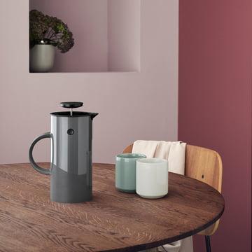Mugs isothermes Core avec cafetière de Stelton
