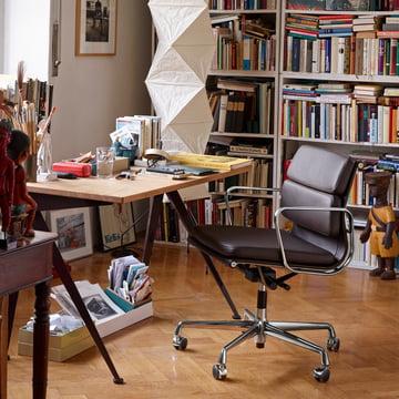 Vitra Soft Pad Chair EA 217