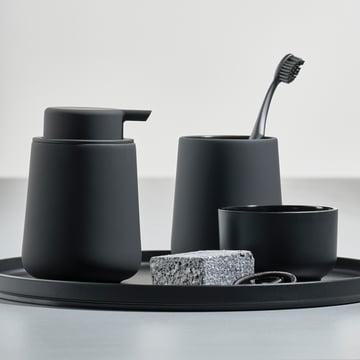 Verre à dents Nova One et distributeur de savon par Zone Denmark