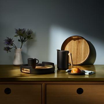Série de casseroles et de poêles au design rustique
