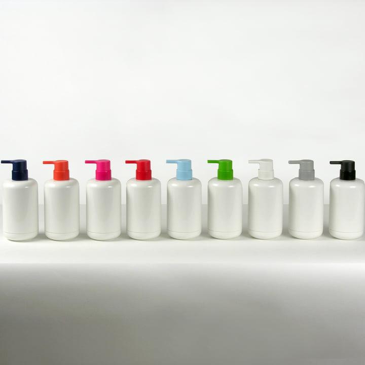 Distributeur de savon Lunar en différentes couleurs
