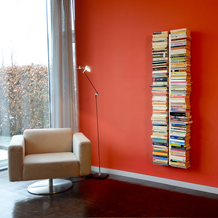Radius Design - Booksbaum - I grand, blanc