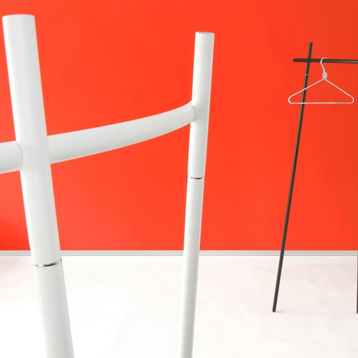 Radius Design - Portemanteau Radius 1, blanc et noir