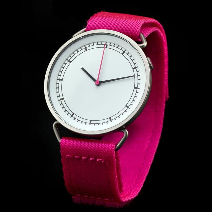 Rosendahl - Montre à bracelet MUW, blanc/rose