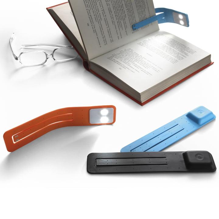 Moleskine - Lampe de lecture LED - couleurs