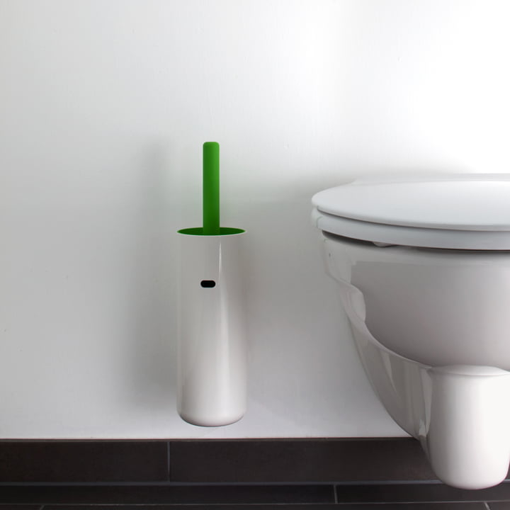 Authentics - Brosse WC murale Lunar, vert