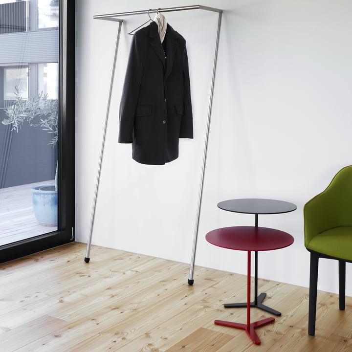 Table d'appoint Tre de Mox avec la penderie Zen