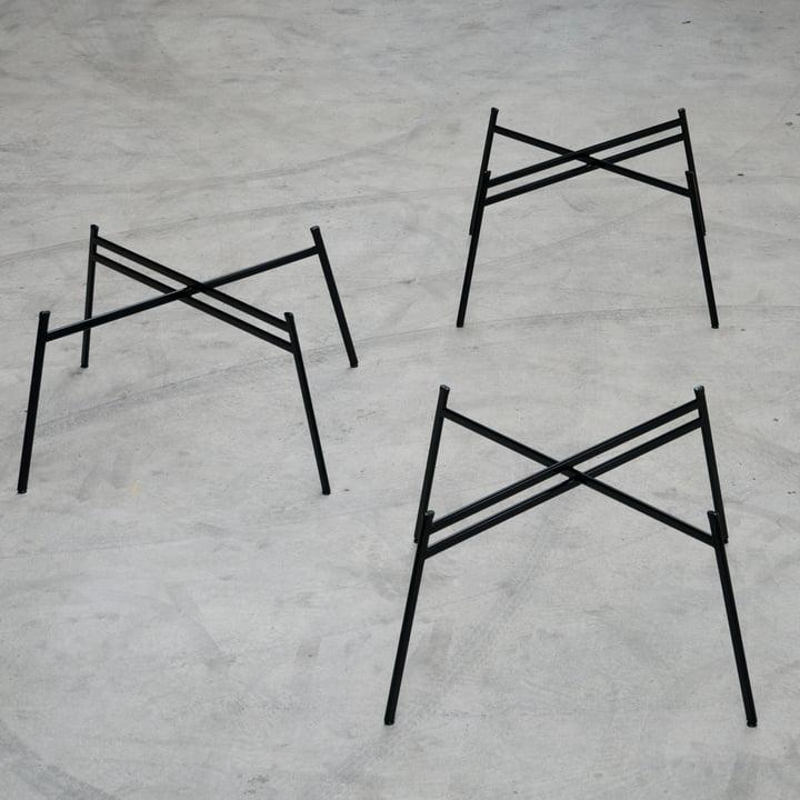 Schindlersalmeron - pied de table, image d'ambiance / de groupe de trois