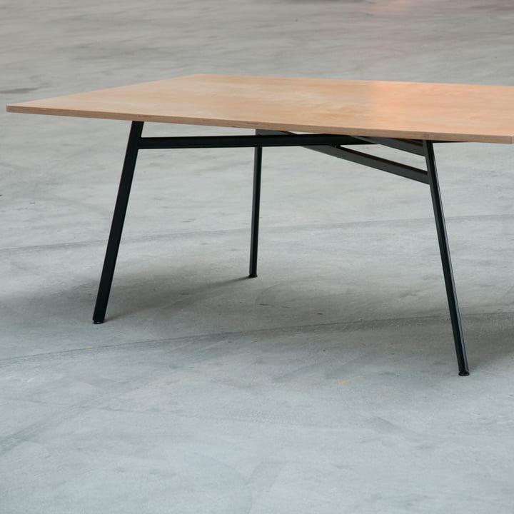 Schindlersalmeron - pied de table avec dessus de table