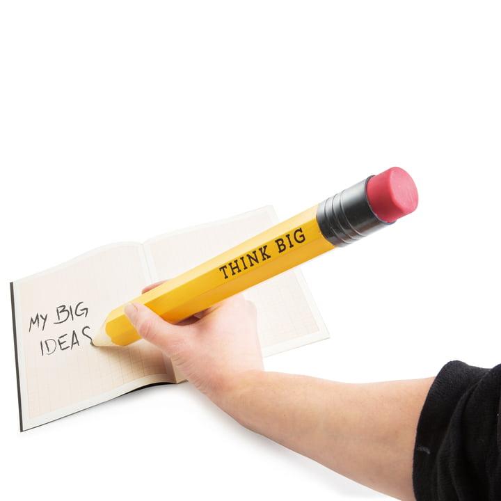 Donkey Products - Crayon à papier Think Big XXXL - en train d'écrire