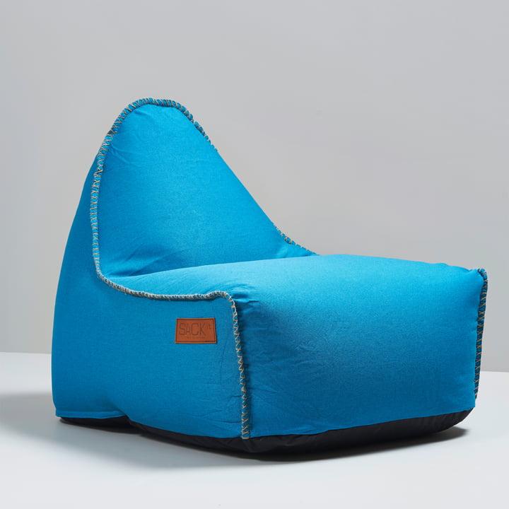 Sack it - Fauteuil Retro it Indoor, turquoise
