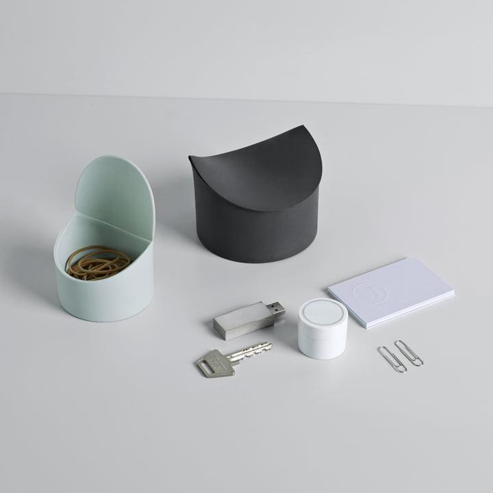 Phold est une famille de boîtes de rangement