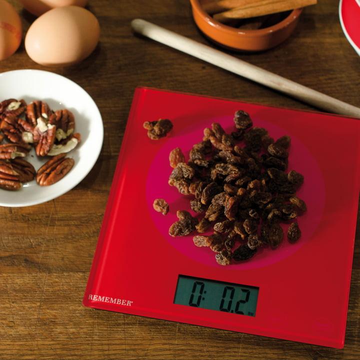 Balance de cuisine Pink & Red de Remember