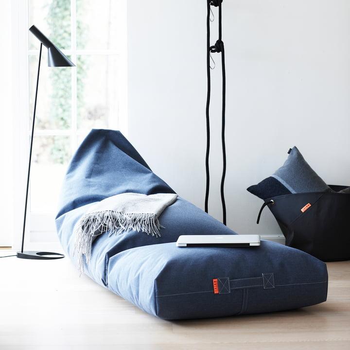 Trimm Copenhagen - Felix Lounger, blue jeans