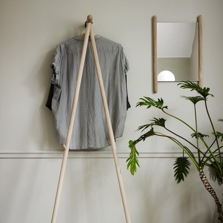 Design réduit dans le couloir