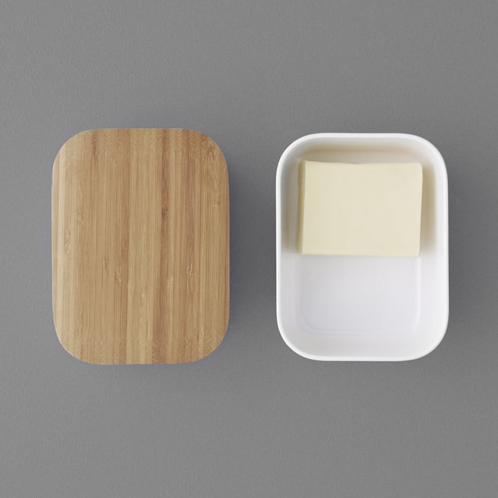 Forme arrondie pour le beurre